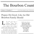 FEATURED IN THE BOURBON COUNTRY READER